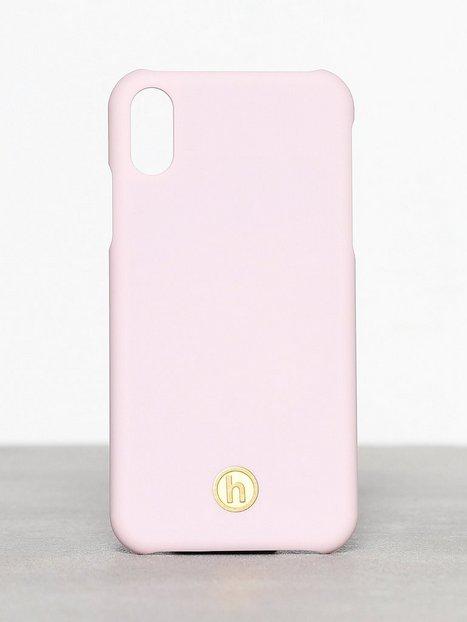 Holdit Paris Bubble Pink Silk iPhone XR Mobilskal