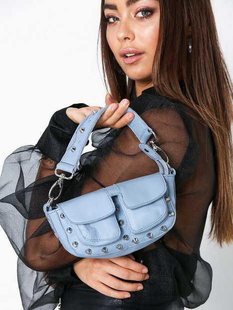 Adax Unlimit shoulder bag Mallory Axelremsväskor Blå - Adax