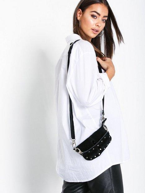 Adax Unlimit shoulder bag Mallory Axelremsväskor Black - Adax