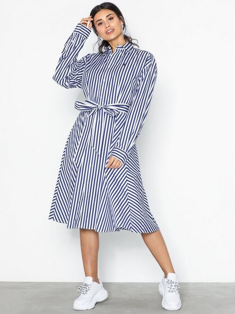 Billede af Polo Ralph Lauren Ls Ela Sd-Long Sleeve-Casual Dress Loose fit dresses Navy