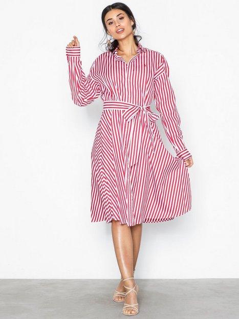 Billede af Polo Ralph Lauren Ls Ela Sd-Long Sleeve-Casual Dress Loose fit dresses Red