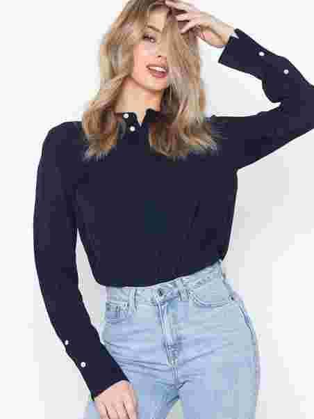 b2beea8ff87 Ls Desra St - Long Sleeve - Shirt - Polo Ralph Lauren - Navy ...