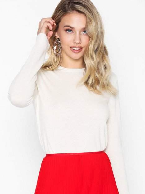 Polo Ralph Lauren Ls Tee-Long Sleeve-Sweater Strikkede trøjer Natural