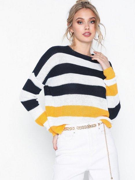 Billede af Polo Ralph Lauren Striped Po-Long Sleeve-Sweater Strikkede trøjer
