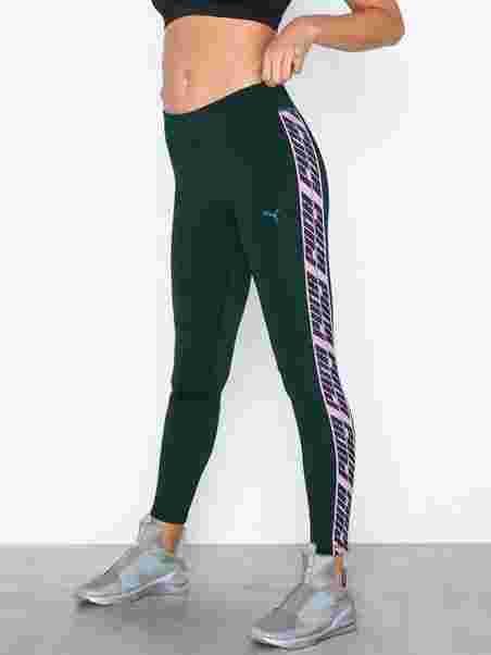 5452523e4ff Feel It 7/8 Tight - Puma - Green - Tights & Bukser - Sportstøj ...