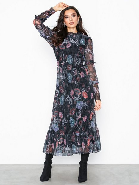 Vila Vijasmine L/S Midi Dress Cc
