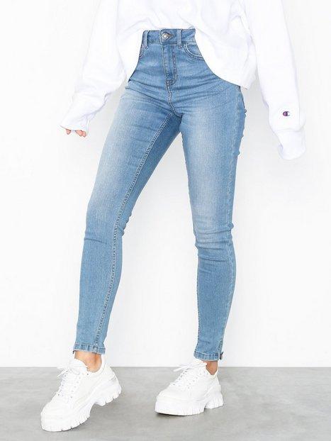 Noisy May Nmlexi Hw Skinny Ankzip Jeans VI883 Slim - Noisy May
