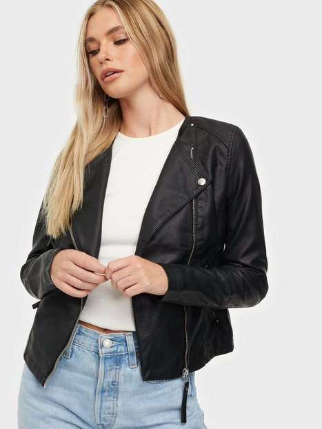 Billede af Vero Moda Vmria Fav Short Faux Leather Jacket Læderjakker