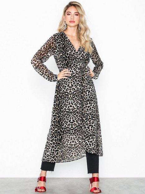 Billede af Pieces Pcmerle Ls Midi Dress D2D Langærmede kjoler