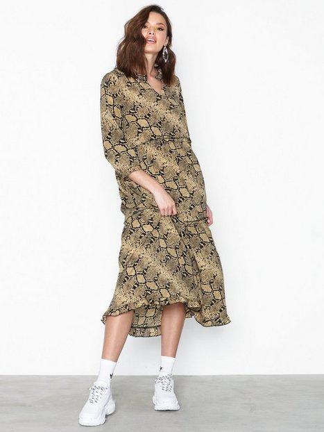 Billede af Only onlAJA Animal Print Dress Loose fit dresses Sort