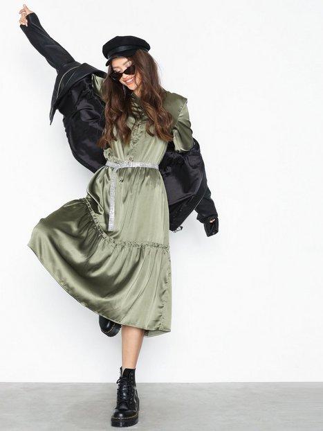 Billede af Object Collectors Item Objalina L/S Long Dress a Bfsd Langærmede kjoler