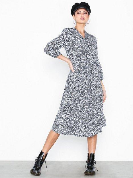 Billede af Lauren Ralph Lauren Alixandra-Long Sleeve-Casual Dress Langærmede kjoler