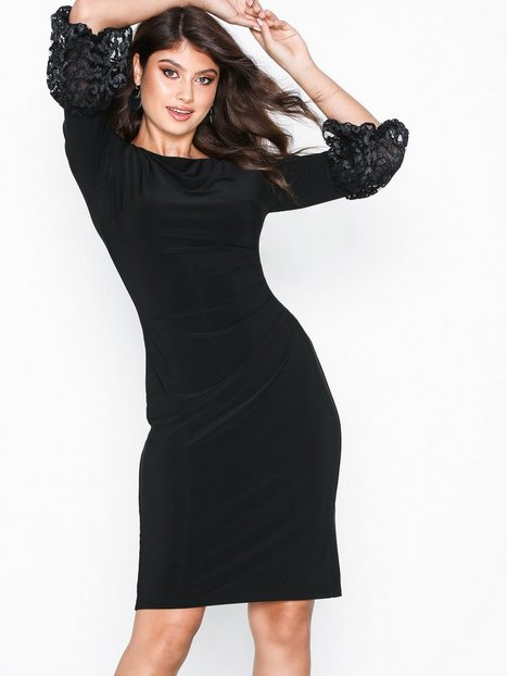 ad651724ee96 Lauren Ralph Lauren Vidella-3 4 Sleeve-Day Dress Tætsiddende kjoler ...