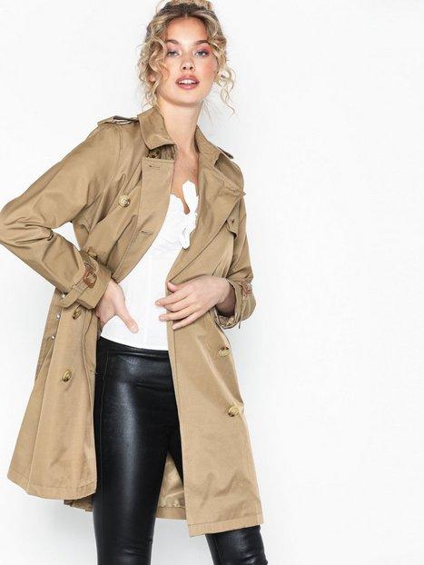 Lauren Ralph Lauren Trench Pkt-Cotton-Coat Trenchcoats Beige