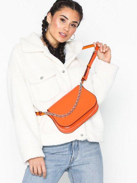 Calvin Klein Dressed Up Shoulder Bag Axelremsväskor Orange