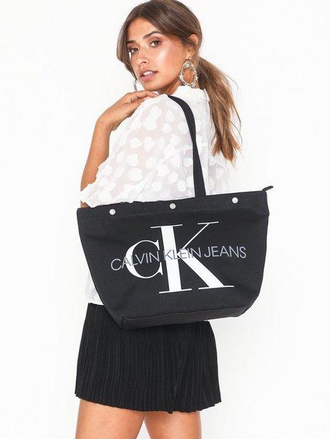 Billede af Calvin Klein Canvas Utility Ew Bottom Tote M Håndtasker