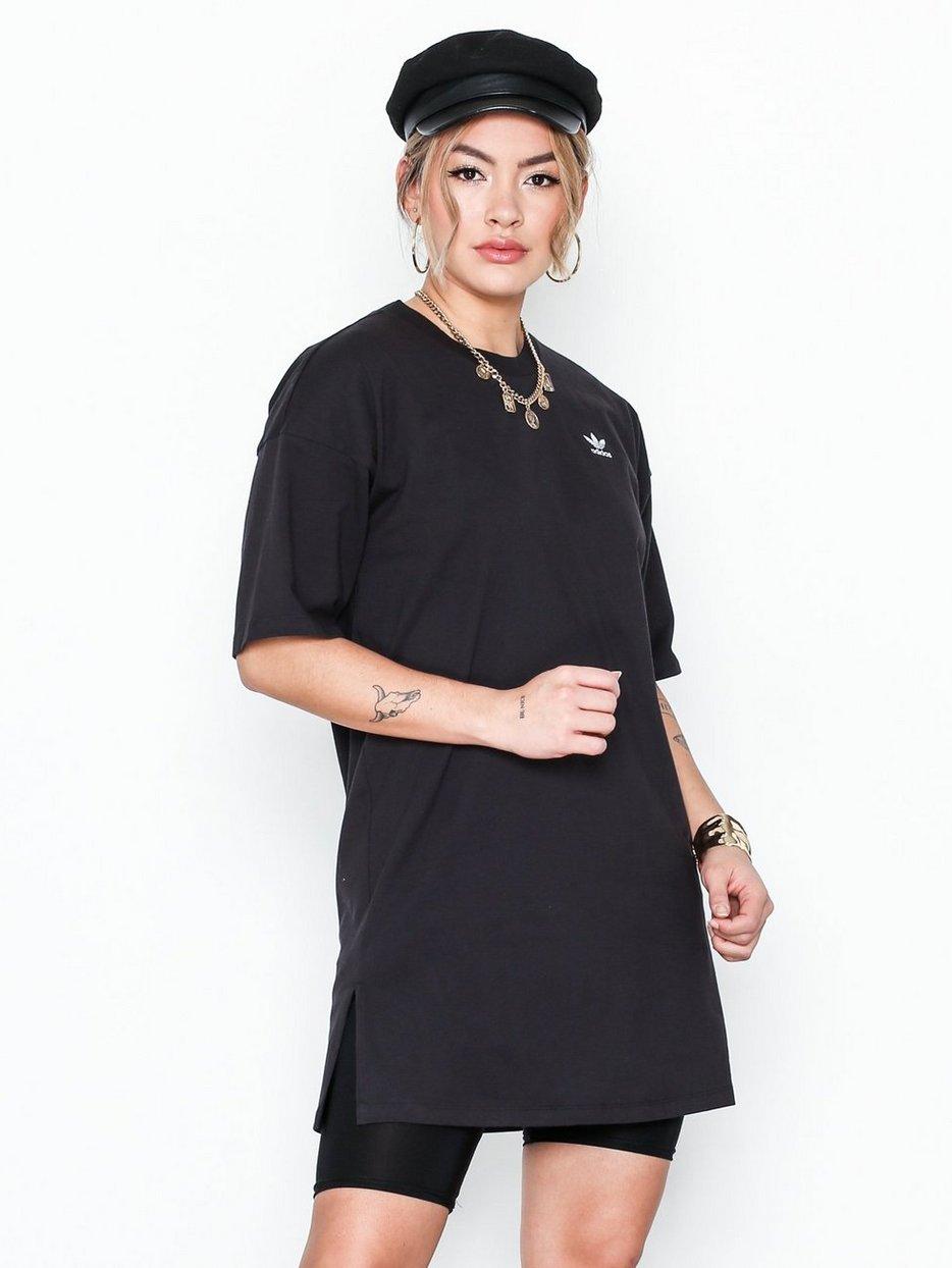 adidas Originals Mekko Trefoil Crew Dress Black