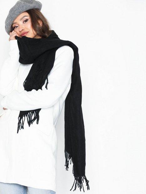 Billede af Vero Moda Vmana Wool Long Scarf Noos Tørklæder Sort
