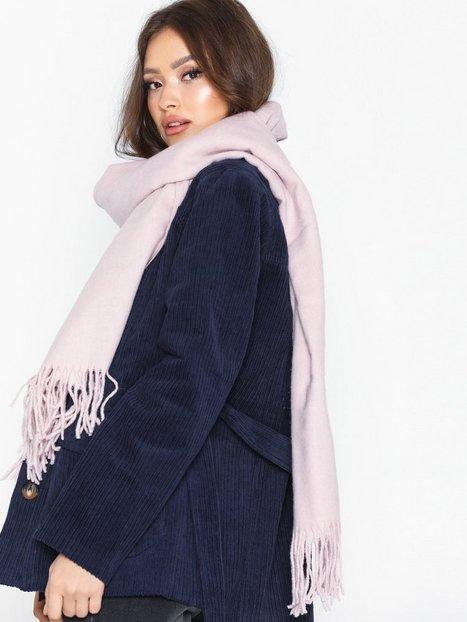 Billede af Vero Moda Vmana Wool Long Scarf Noos Tørklæder Lys Rosa