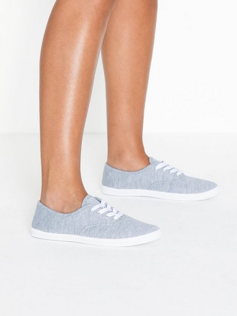 Billede af Duffy Basic Canvas Sneaker Low Top Grå
