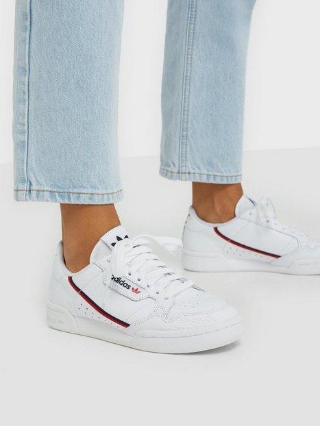 Billede af Adidas Originals Continental Low Top Hvid/lyserød