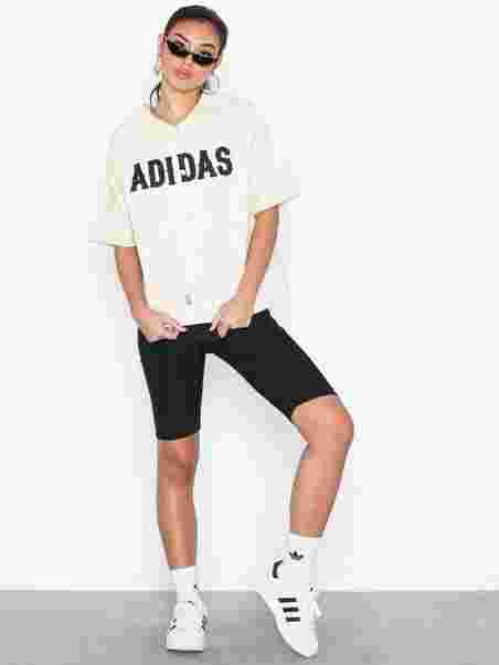 c891dc44394 Baseball Jersey - Adidas Originals - White - Toppe - Tøj - Kvinde ...
