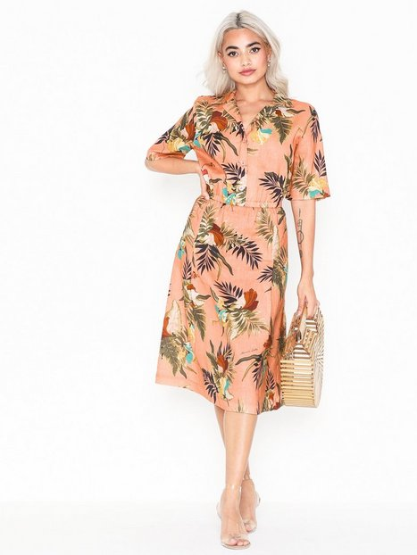 Billede af Morris Donna Printed Linen Dress Loose fit dresses