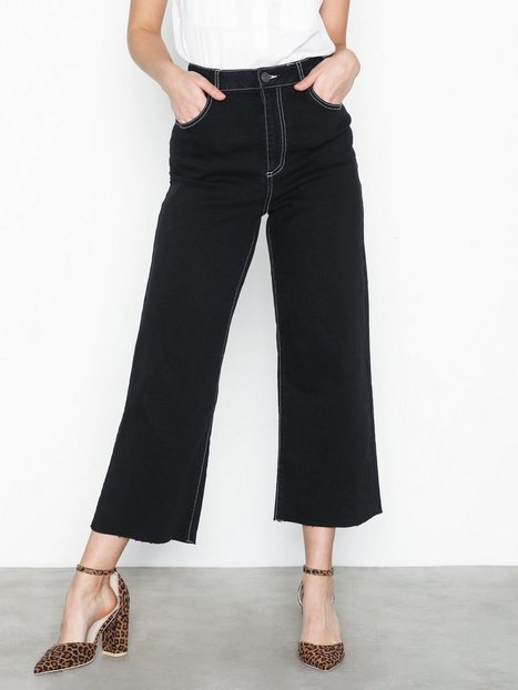 Noisy May Nmmartie Hr Crop Wide Leg Jeans X3 Bootcut & Flare