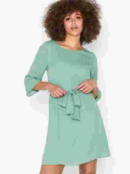 54207f33c697 Katie Dress - Dry Lake - Green - Dresses - Clothing - Women - Nelly ...