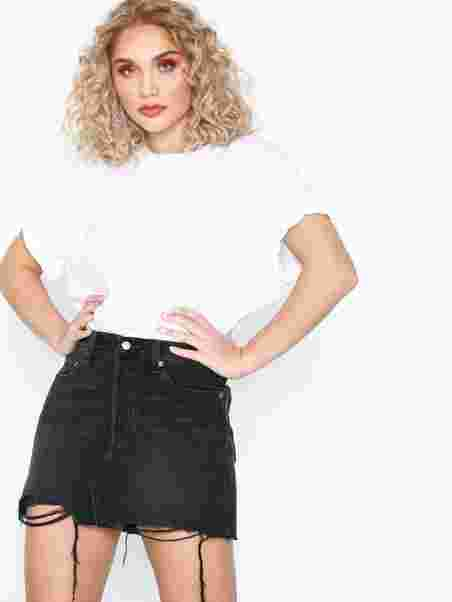 f3cae94f2 Deconstructed Skirt Ill Fated - Levis - Black - Skirts - Clothing ...