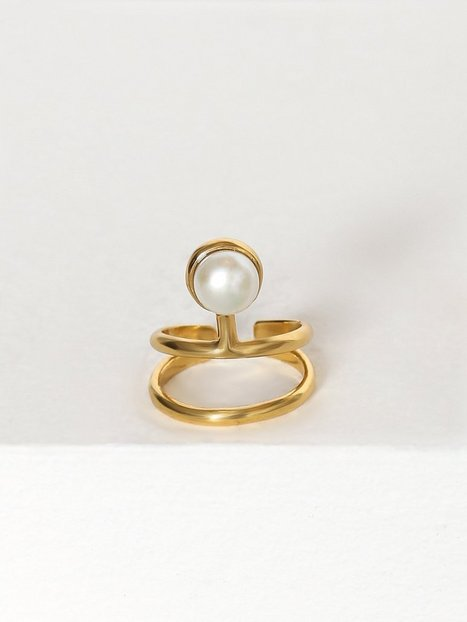 Billede af Cornelia Webb Pearled Knuckle Ring Ring