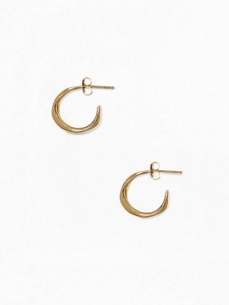 Billede af Cornelia Webb Molded Organic Hoop Earring s -Pair Ørering