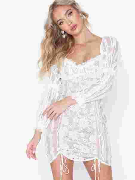 893167cc8848 Monroe Mini Dress - For Love & Lemons - White - Partykleider ...