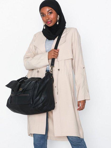 Pieces Pctotally Royal Leather Travel Bag Handväskor