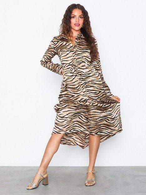 Billede af Pieces Pctiga Ls Midi Dress D2D Langærmede kjoler