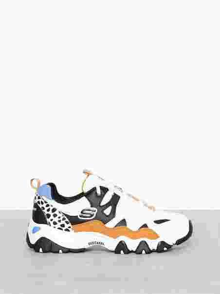 61cefaa618d2 D lites 2.0 Tidal Waves - Skechers - Black White - Sneakers - Shoes ...