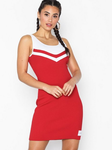 Billede af Calvin Klein Jeans Cheerleader Sweater Dress Tætsiddende kjoler