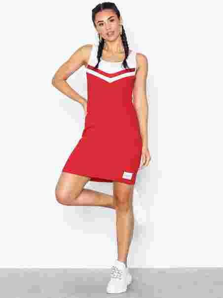 44d2895af2f9 Cheerleader Sweater Dress - Calvin Klein Jeans - Red - Dresses ...