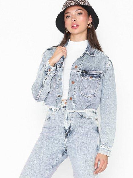 Wrangler Retro Crop Jacket Jeansjackor