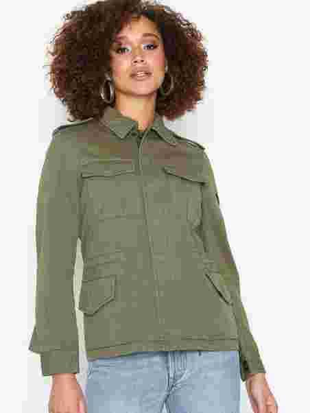 224843ec0c5cd1 Valentina Jacket - Svea - Army - Jackets - Clothing - Women - Nelly.com