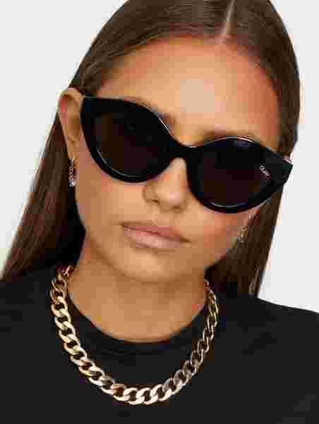 ad58b5f0e7 Goodnight Kiss - Quay Australia - Black - Sunglasses - Accessories ...