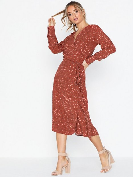 Billede af Morris Aurélie Wrap Dress Loose fit dresses