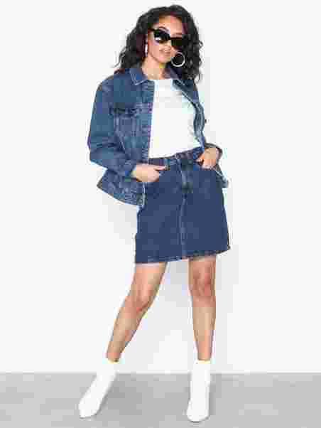 ed734028ea9a Vmkathy Hr Short Denim Skirt Boo Ci - Vero Moda - Blue - Skirts ...