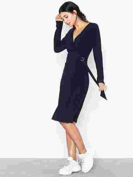 941ca72d38e Casondra - Long Sleeve - Day Dress - Lauren Ralph Lauren - Navy ...