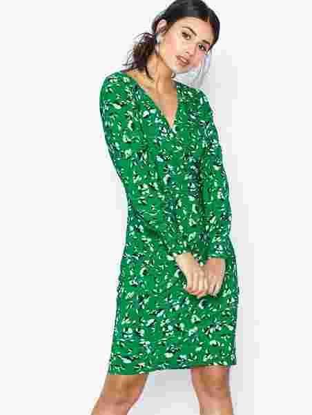 c0bd7e73 Sydnie - Long Sleeve - Day Dress - Lauren Ralph Lauren - Green ...