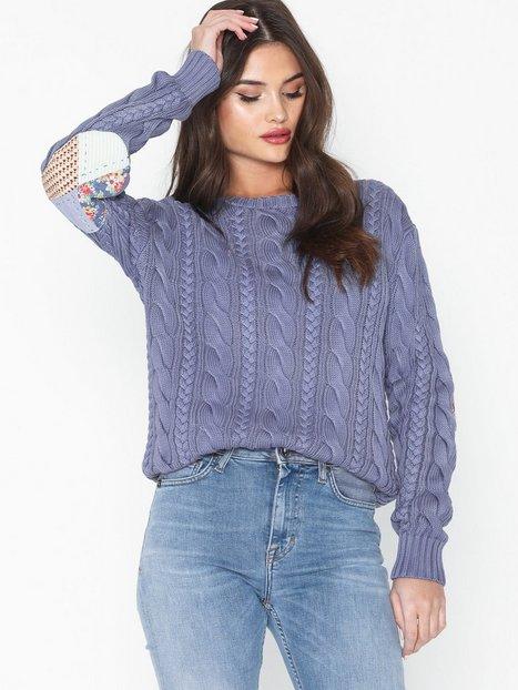 Billede af Polo Ralph Lauren Ls Elbw Ptch-Long Sleeve-Sweater Strikkede trøjer