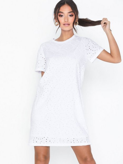 Billede af Polo Ralph Lauren Eyelet Drs-Short Sleeve-Casual Dress Loose fit