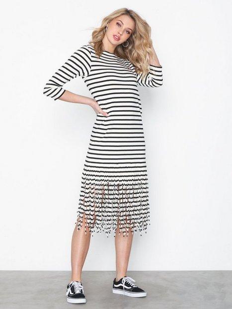Billede af Polo Ralph Lauren Fringe Dress-3/4 Sleeve-Casual Dress Loose fit dresses