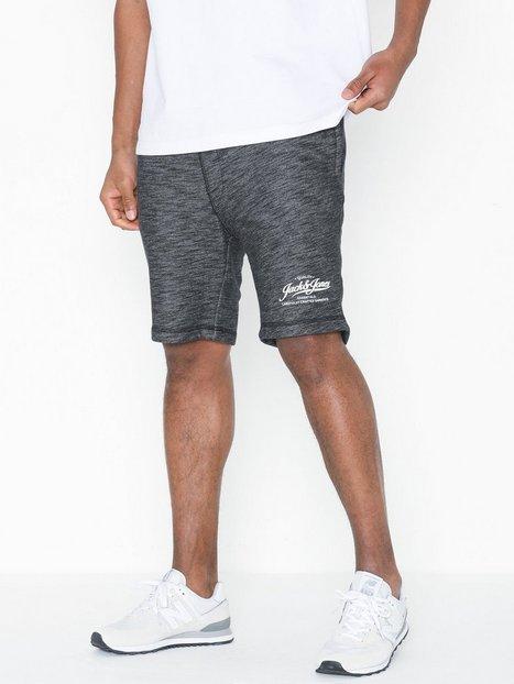 Jack Jones Jjemelange Sweat Shorts Sts Shorts Sort mand køb billigt