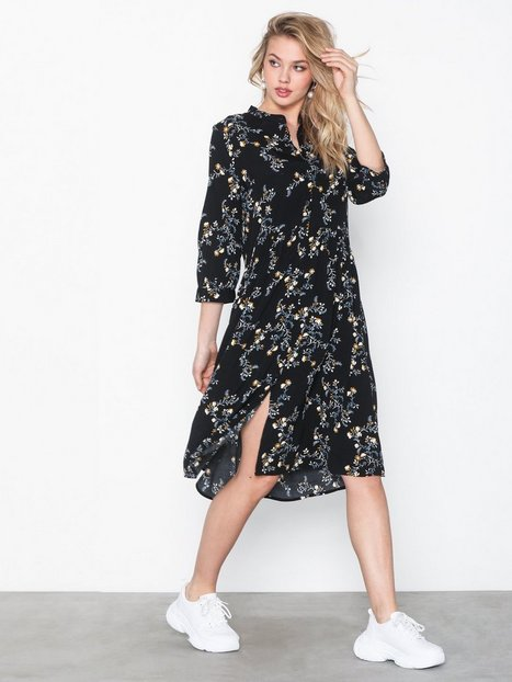 Billede af Pieces Pcbeatrice 3/4 Shirt Dress Pb Loose fit dresses